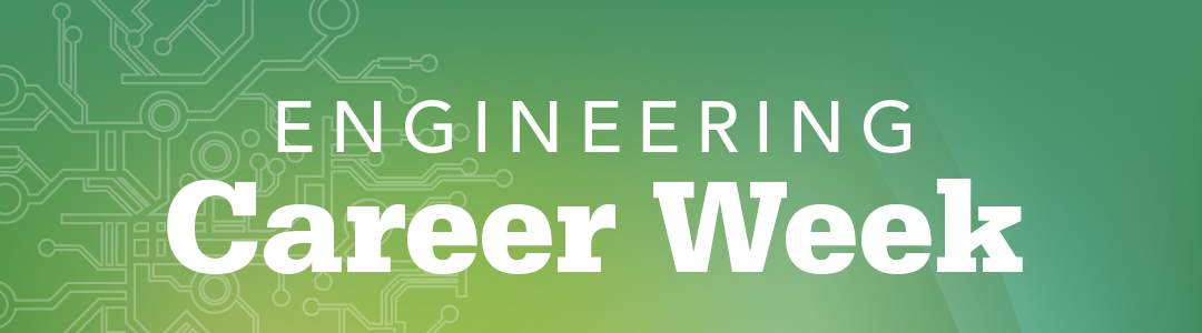 Engineering Career Week banner